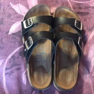 Mad Love slip on sandals